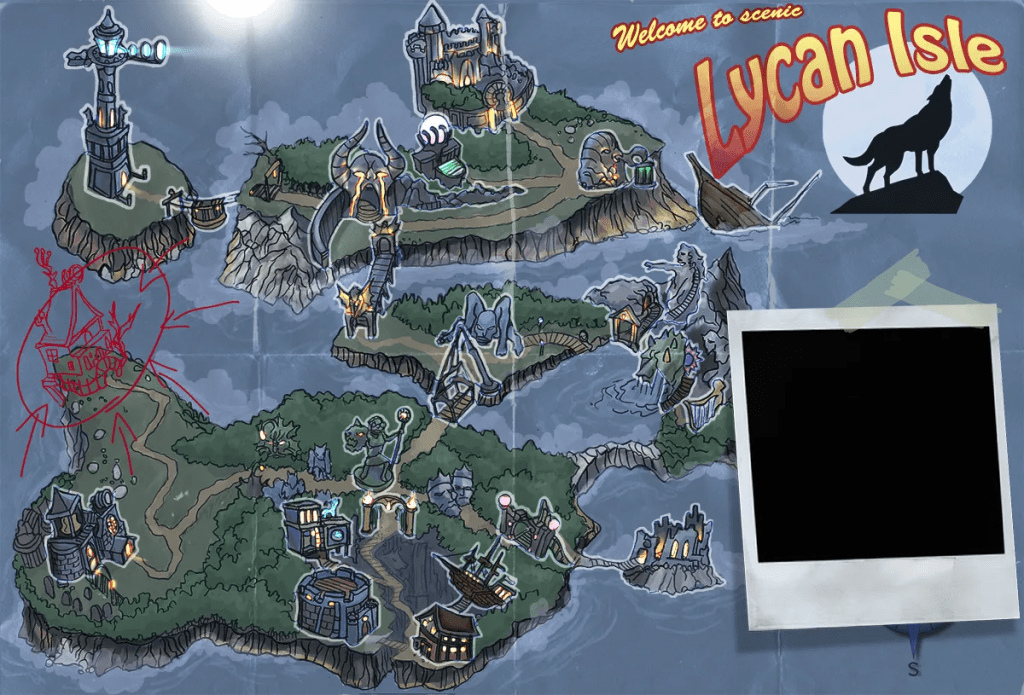 Silverback Interactive - Beast of Lycan Isle - Map (Digital)