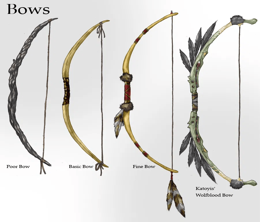 Silverback Interactive - White Calf - Bow Concepts (Pencil/Digital)