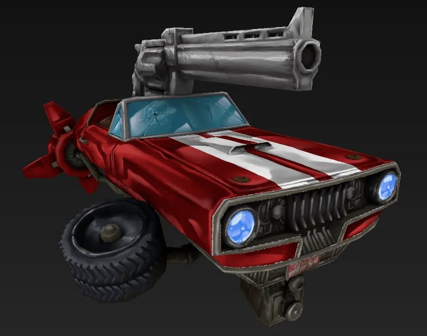 Silverback Interactive -Tanks - Buddy Cops Tank (Textures)