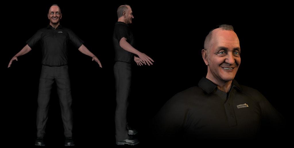 Silverback Interactive - Davy Snowdon  (Sculpt/Topo/UV/Texture)