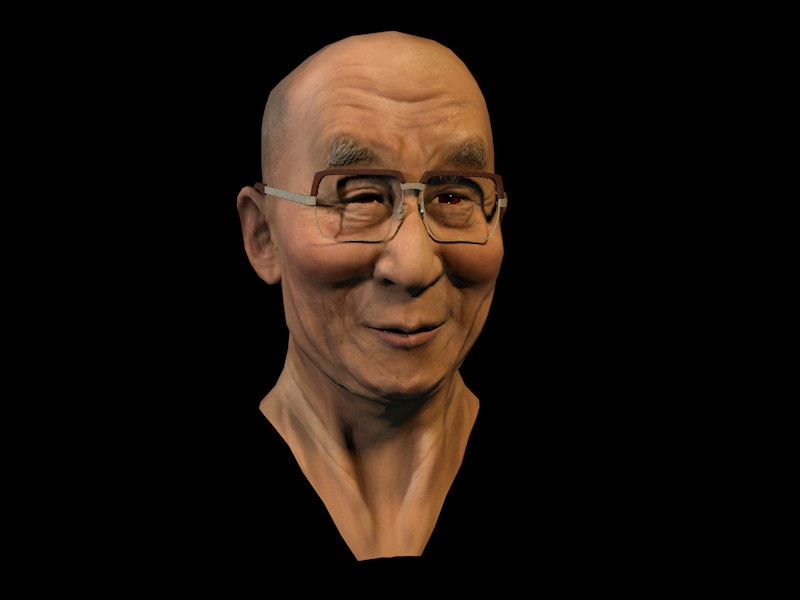 Silverback Interactive - Virtual Tibet - Dalai Lama (Sculpt/Texture)