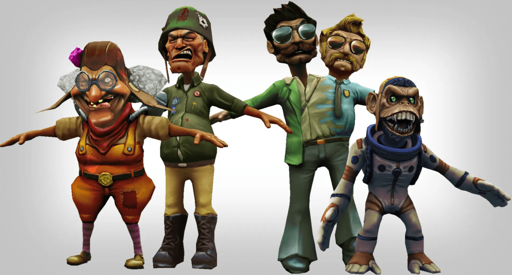 Silverback Interactive - Tanks - Characters (Sculpt/Texture)
